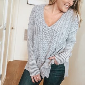 Sweaters - Mary Jean Cable Knit Sweater